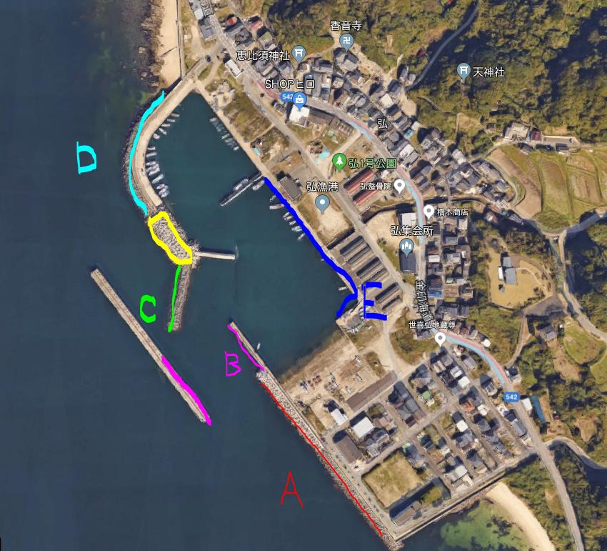 福岡おすすめの釣り場『弘漁港』で良型ゲット!