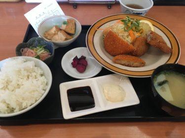 【姪浜駅】姪浜駅の南口にある定食屋「さくら屋」