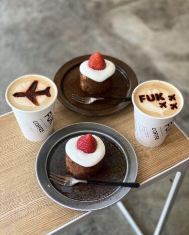 旅行気分なカフェfukcoffee